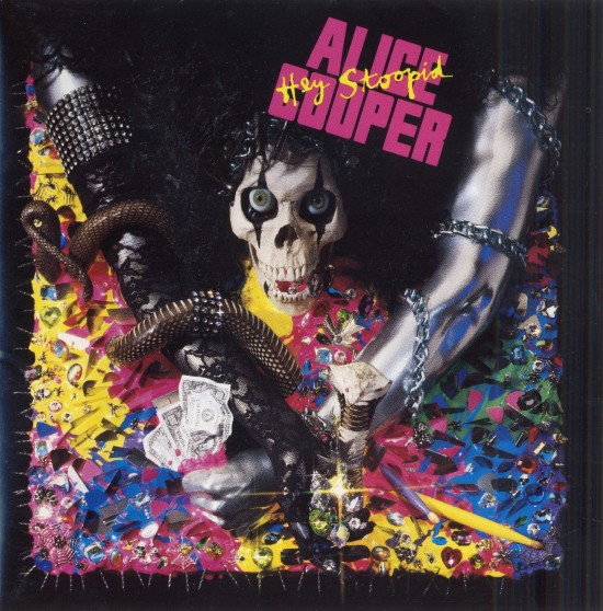 AllCDCovers alice cooper hey stoopid 1991 retail cd front1 550x558 23 Rock/Metal Album Covers That Will Stun You