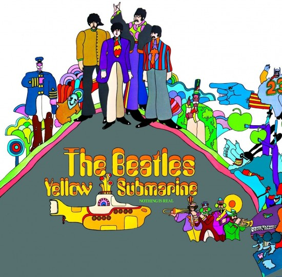AllCDCovers beatles yellow submarine 1969 retail cd front 550x540 23 Rock/Metal Album Covers That Will Stun You