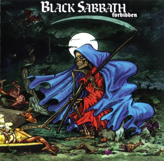 AllCDCovers black sabbath forbidden 1995 retail cd front 550x540 23 Rock/Metal Album Covers That Will Stun You