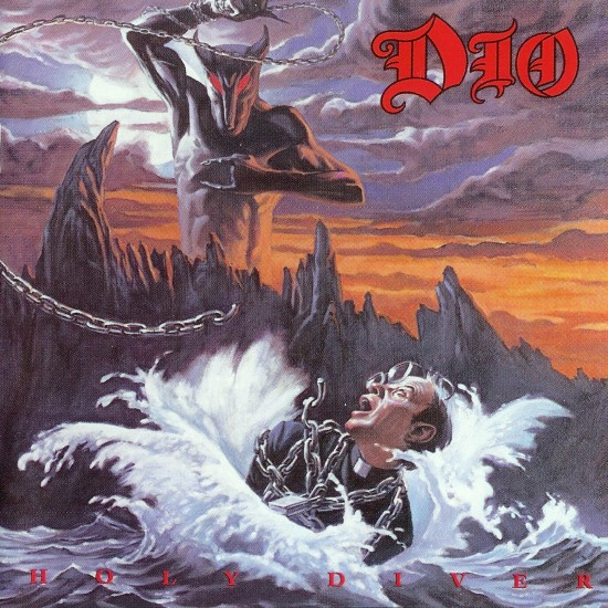 AllCDCovers dio holy diver 1983 retail cd front 550x550 23 Rock/Metal Album Covers That Will Stun You