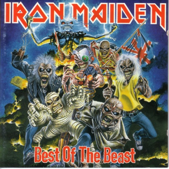 AllCDCovers iron maiden best of the beast 1996 retail cd front 550x548 23 Rock/Metal Album Covers That Will Stun You