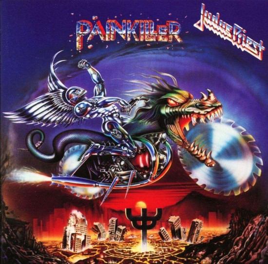 AllCDCovers judas priest painkiller 2002 retail cd front 550x541 23 Rock/Metal Album Covers That Will Stun You