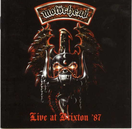AllCDCovers motorhead live at brixton 2005 retail cd front 550x535 23 Rock/Metal Album Covers That Will Stun You