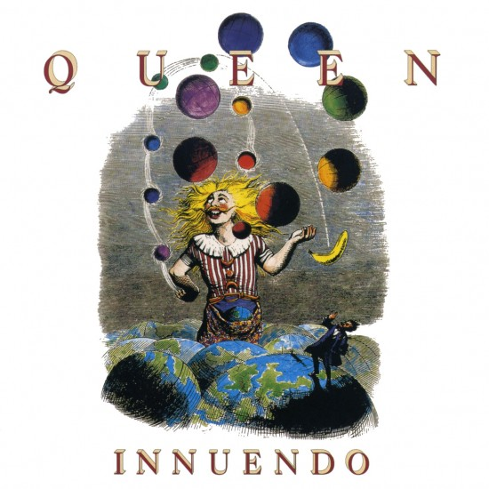AllCDCovers queen innuendo 1991 retail cd front 550x550 23 Rock/Metal Album Covers That Will Stun You