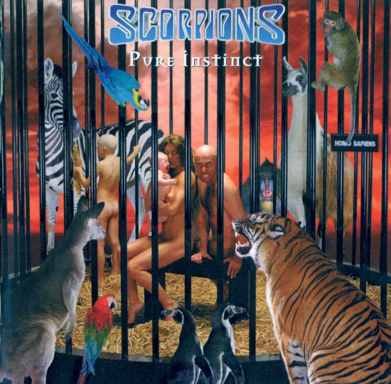 AllCDCovers scorpions pure instinct 1996 retail cd front 550x540 23 Rock/Metal Album Covers That Will Stun You