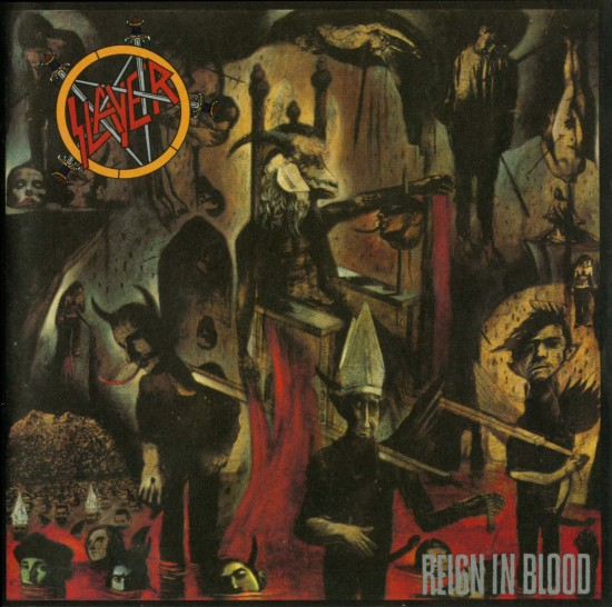 AllCDCovers slayer reign in blood 2006 retail cd front1 550x546 23 Rock/Metal Album Covers That Will Stun You