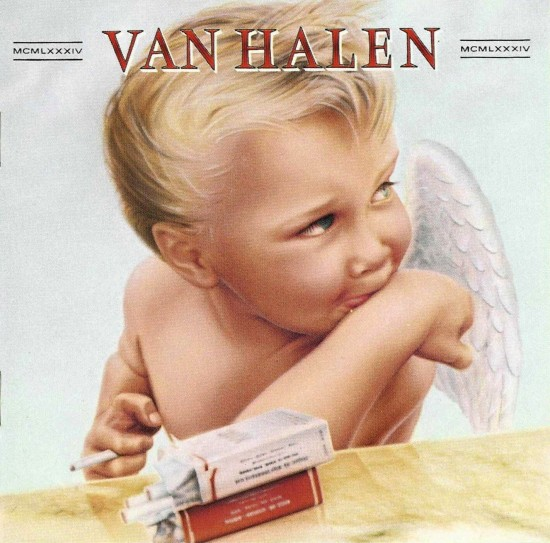 AllCDCovers van halen 1984 1983 retail cd front 550x543 23 Rock/Metal Album Covers That Will Stun You