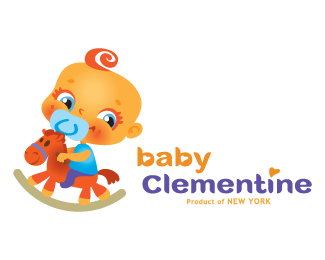 Baby Clementine 42 Awesomely Created Logo Characters