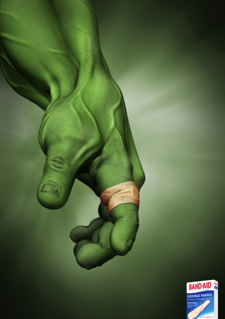 Band Aid Hulk