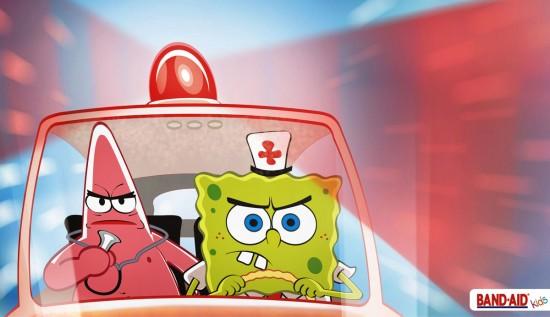 Band Aid kids Bob's emergency