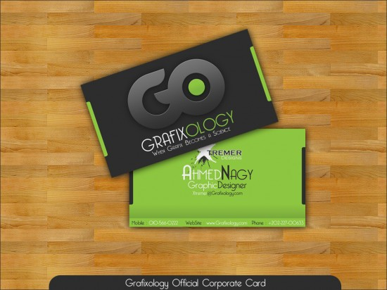 Business Card by XtrDesign 550x412 21 Black Business cards Design