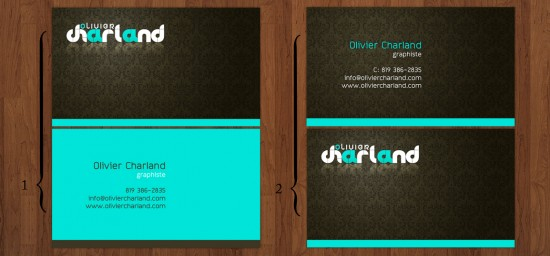 Business card by 1ceGoD 550x256 21 Black Business cards Design