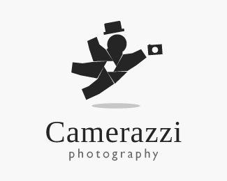 Camerazzi Photography 42 Awesomely Created Logo Characters