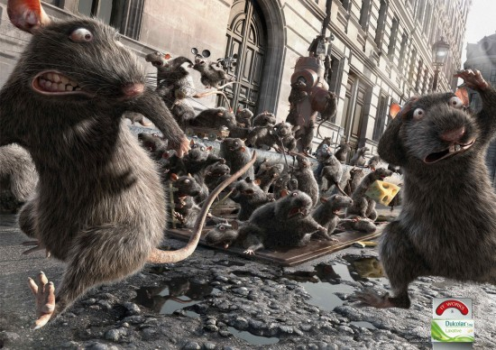 Dulcolax Rats 550x388 52 Advertisements Who Got Awarded For Their Creativity