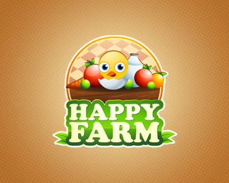 Happy Farm 42 Awesomely Created Logo Characters