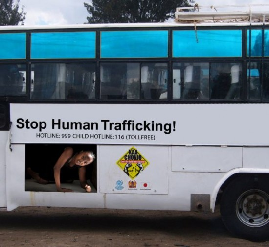 International Organization for Migration Bus 550x504 52 Advertisements Who Got Awarded For Their Creativity