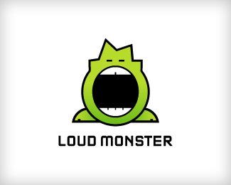 Loud Monster 42 Awesomely Created Logo Characters