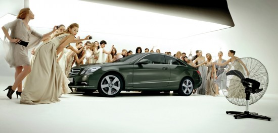 Mercedes Benz E Class Coupé 550x264 52 Advertisements Who Got Awarded For Their Creativity