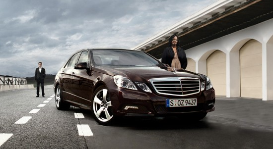 Mercedes Benz E Class Web Special 550x301 52 Advertisements Who Got Awarded For Their Creativity