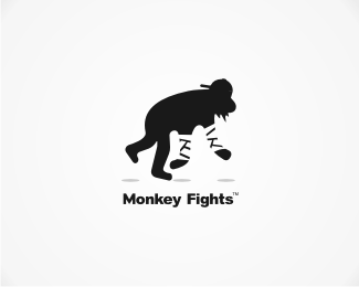 Monkey Fights 42 Awesomely Created Logo Characters