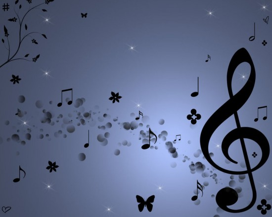 Music by Katie8594 550x439 23 Brilliantly Designed Music Wallpapers That Will Make Your Desktop Singing