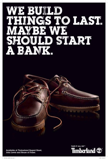 Timberland Bank 440x650 52 Advertisements Who Got Awarded For Their Creativity