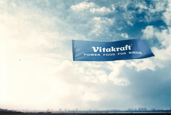 Vitakraft Power food for birds 550x372 52 Advertisements Who Got Awarded For Their Creativity