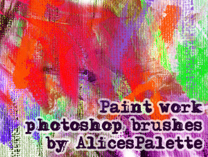 alicespalettes paint brush work thumb5 20 Beautiful Photoshop Brushes That Will Make Your Work In Photoshop Easier