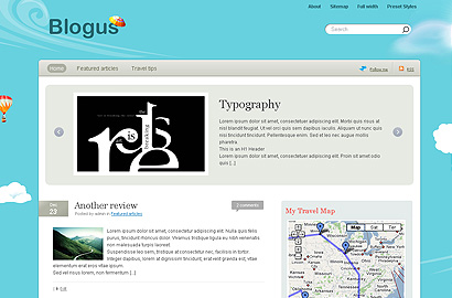blogus small 31 Premium Wordpress Themes