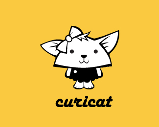 curicat 42 Awesomely Created Logo Characters
