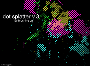 dot splatter 3 thumbnail 20 Beautiful Photoshop Brushes That Will Make Your Work In Photoshop Easier