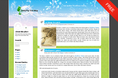 eco blog small 31 Premium Wordpress Themes