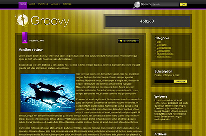 groovy small 31 Premium Wordpress Themes