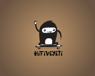 hifive yeti 42 Awesomely Created Logo Characters