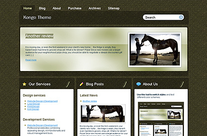 kongo small 31 Premium Wordpress Themes