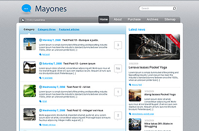 mayones small 31 Premium Wordpress Themes