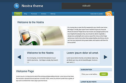 nostra small1 31 Premium Wordpress Themes