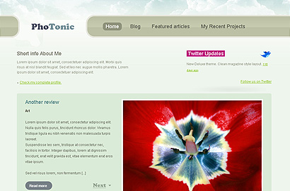 photonic small 31 Premium Wordpress Themes