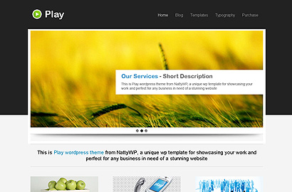 play small 31 Premium Wordpress Themes