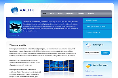 valtik small 31 Premium Wordpress Themes