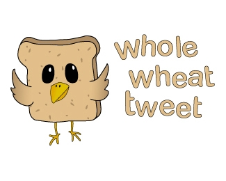 whole wheat tweet 42 Awesomely Created Logo Characters