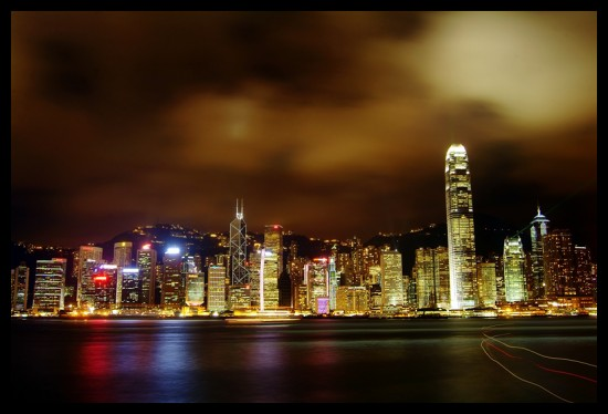 City Of Blinding Lights by Marinshe 550x374 Modern Photography: City Lights
