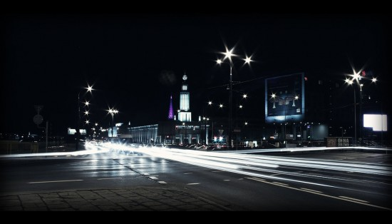 City of bliding lights 01 by matlev 550x314 Modern Photography: City Lights