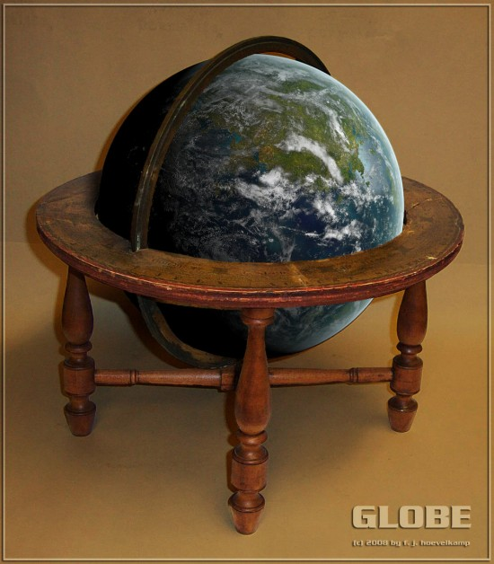 GLOBE by hoevelkamp 550x628 26 Inspiring Digital Globes