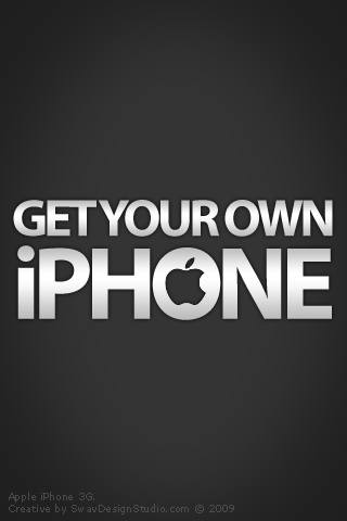 Get Your Own iPhone - WallPaper2