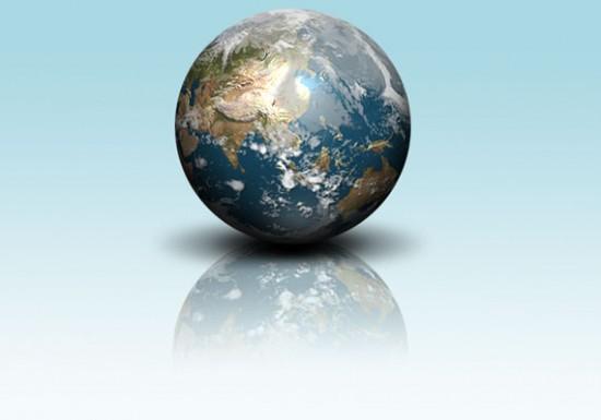 Globe by i kat 550x385 26 Inspiring Digital Globes