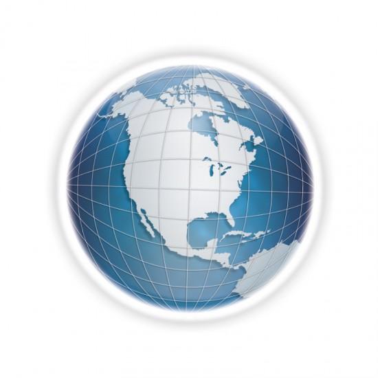 Globe by jbuc 550x550 26 Inspiring Digital Globes