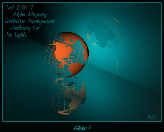 Globe by wwdude 550x443 26 Inspiring Digital Globes