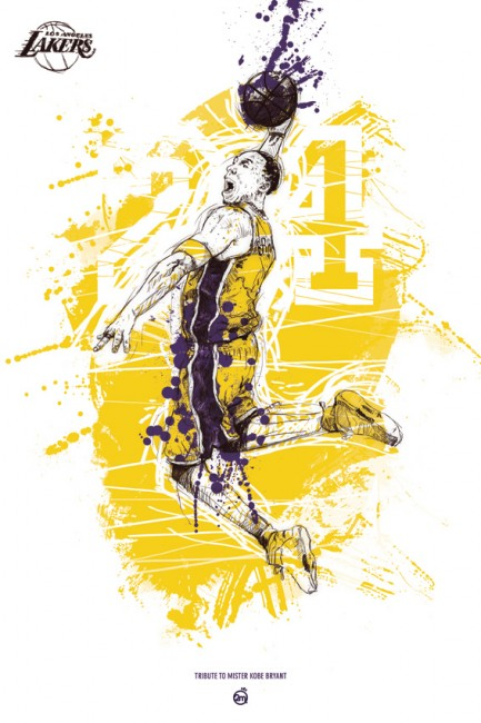 KOBE BRYANT Tribute 433x650 29 Fresh And Creative Poster Designs