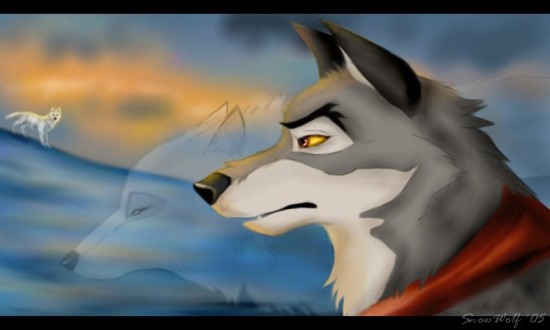 Maybe a Wolf Can by SnowWolfMystic 550x330 42 Well Painted Wolfs